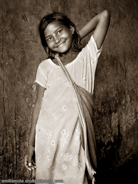 photoblog image Haridwar girl, India